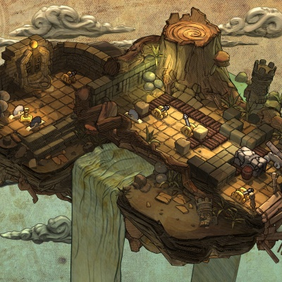 Environment Design 3d: Old Map
