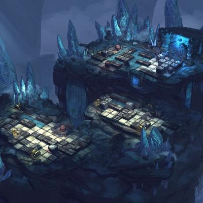 Environment Design 3d: Icecave 2