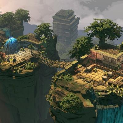 Environment Design: Jungle 1