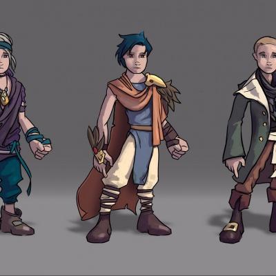 Character Design: Finnick 1