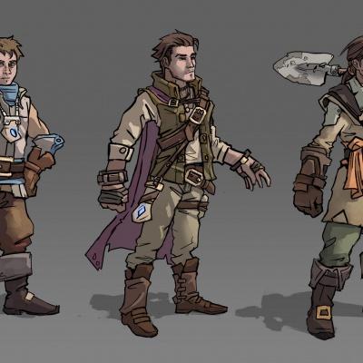 Character Design: Monty