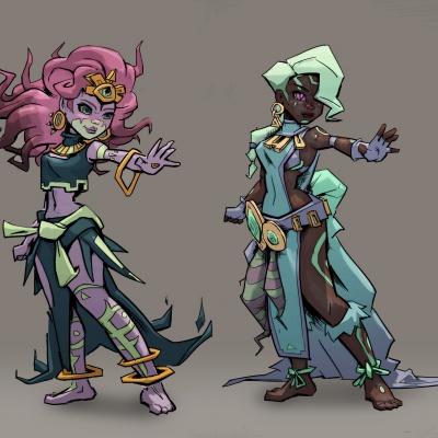 Character Design: Spirit 2 - Character design by Thomas Visscher. Colors by me.