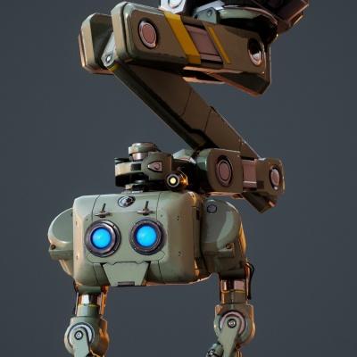 Robot Character 1