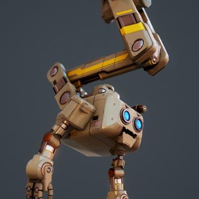 Robot Character 2