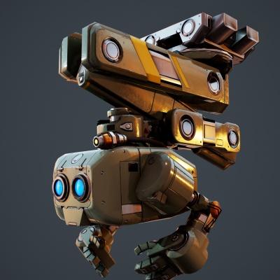 Robot Character 3