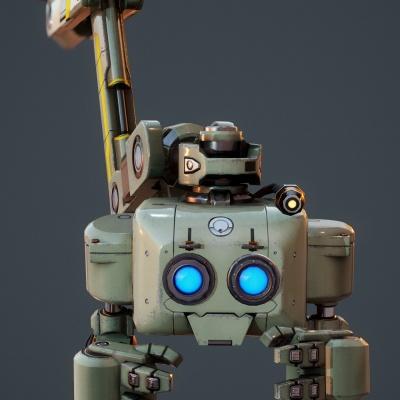 Robot Character 10