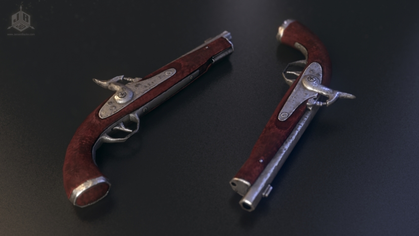 A Musket, these old-timey guns are awesome!