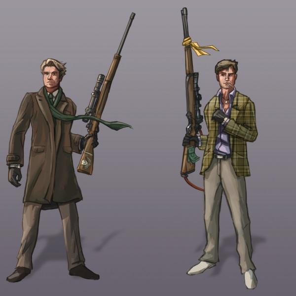 Retro Sniper Design Variations