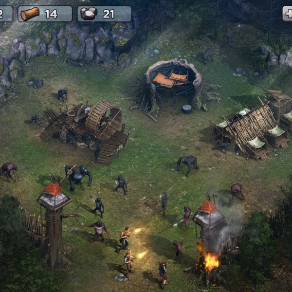 Dawn of the planet of the Apes game design
