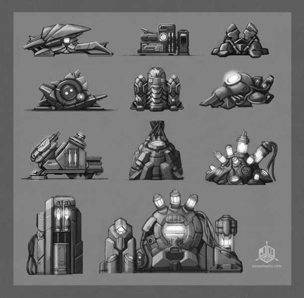 Various crafting machines