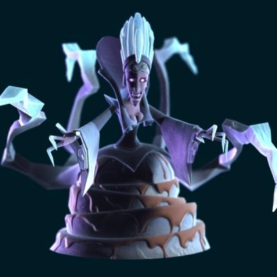 Snowqueen 3d model