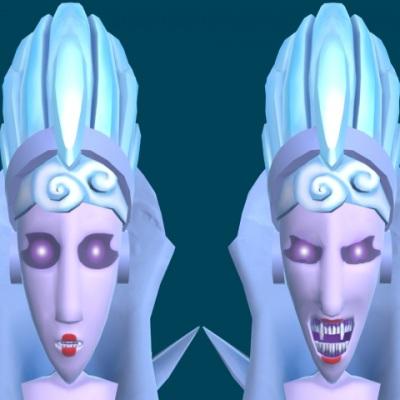 Snowqueen morphtargets