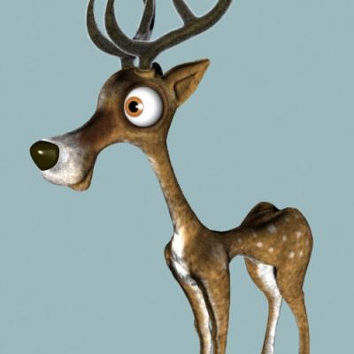 A cute deer design