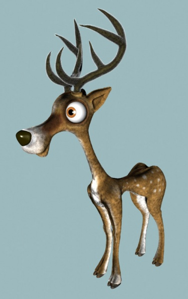 A cute deer design