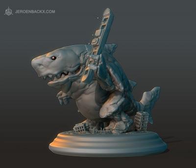Sharkaiju 1