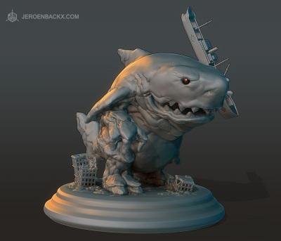 Sharkaiju 3