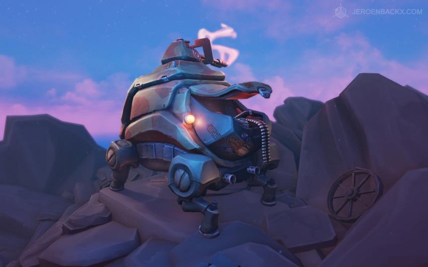 Rejected Robot: Mobile Sniper Unit