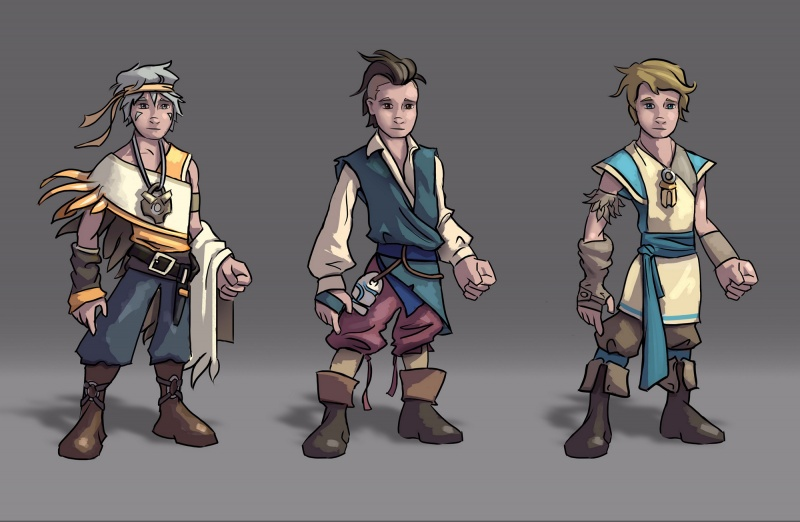 Character Design: Finnick 2