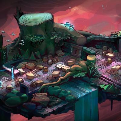 Environment Style Design 2d: Dreamscape