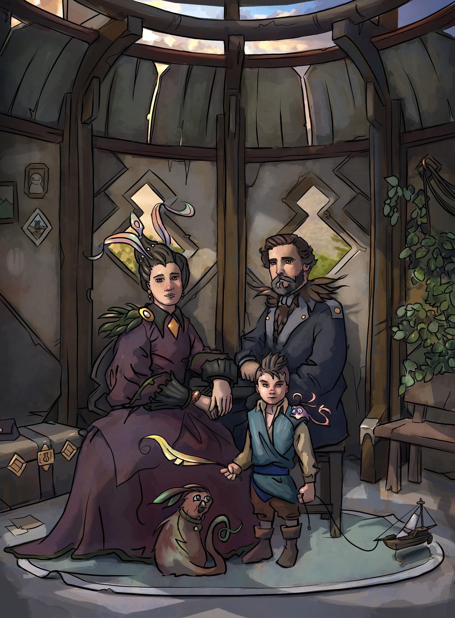 Finnick's family portrait