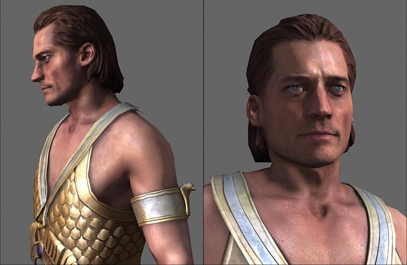 Gods of Egypt - Horus character Model