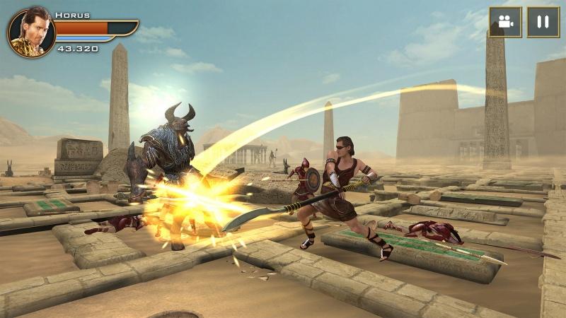 Gods of Egypt - Horus fighting