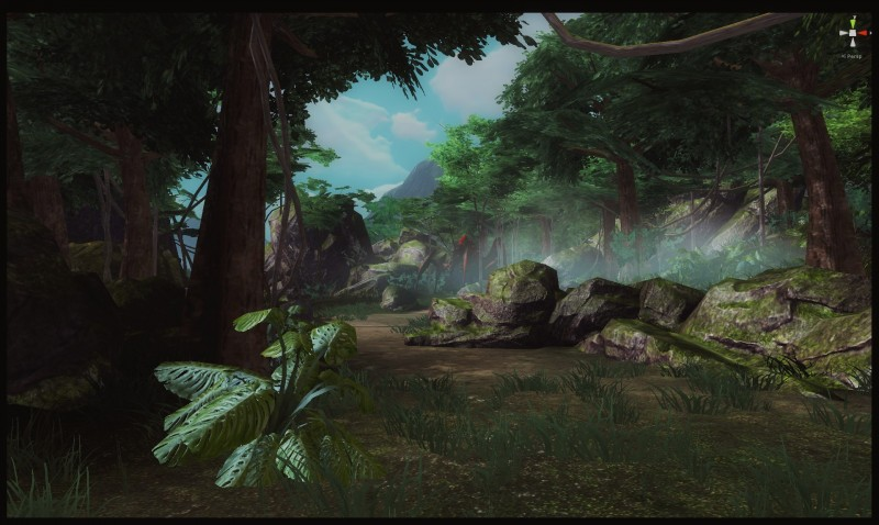 Kong Skull Island 4 - Fog and scary big bugs