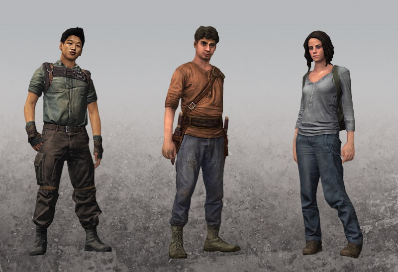 Mazerunner Characters 1