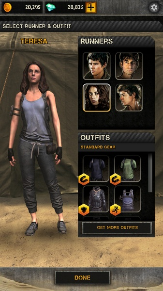 Customize your outfits