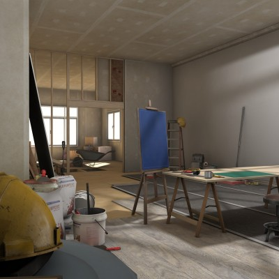 Conctruction Concepts Environment 2: Home Interior Construction