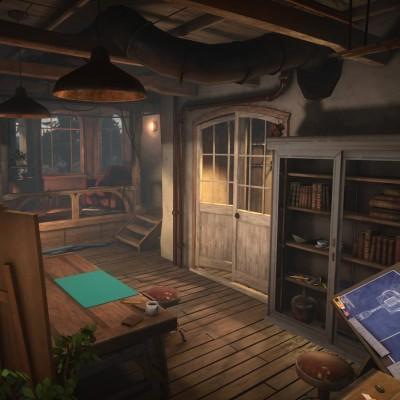 Conctruction Concepts Environment 1: Cozy Cabin