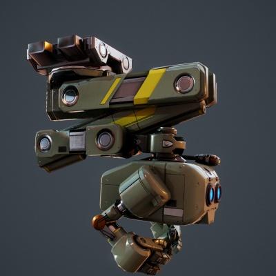 Robot Character 4