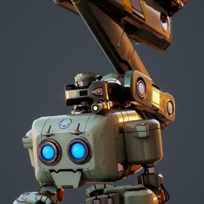 Robot Character 7