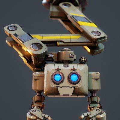Robot Character 8