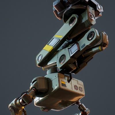 Robot Character 9