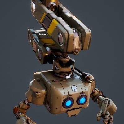 Robot Character 11