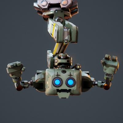 Robot Character 12