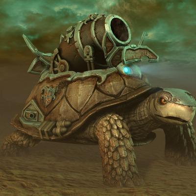 TurtleTank Scene
