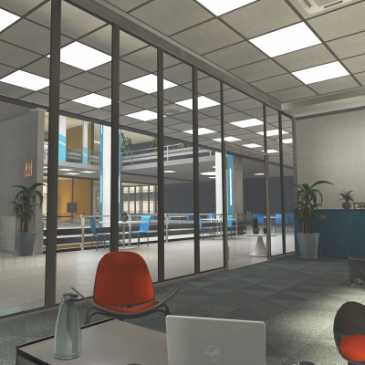 Office Environment: Allied Security 2
