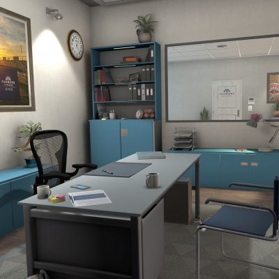 Office Environment: Farmers Insurance 2