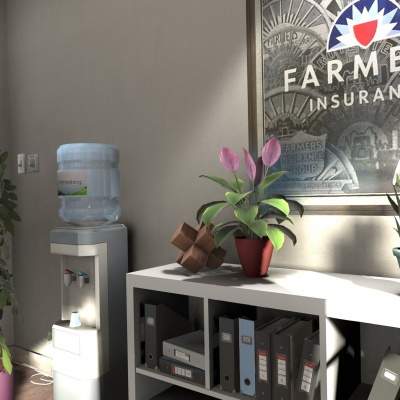 Office Environment: Farmers Insurance 3