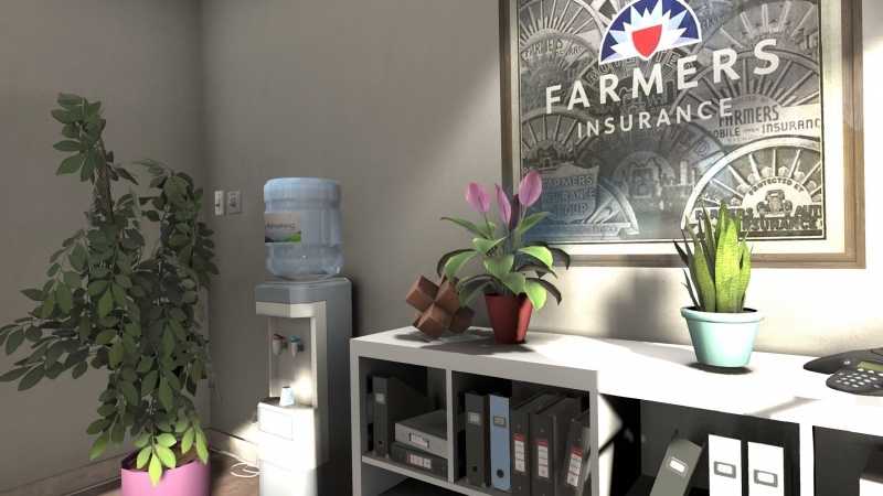 Office Environment: Farmers Insurance 3